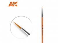 AK Pinsel ROUND BRUSH 2/0 SYNTHETIC